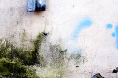 конкретная стена grunge Стоковое Фото
