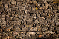 Конкретная текстура кирпичной стены Стоковая Фотография RF