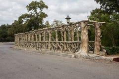 Конкретное искусство моста Стоковое фото RF
