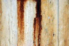 конкретное ржавое Стоковое Фото