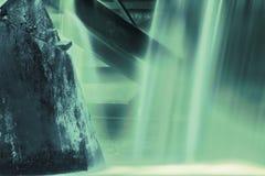 Бетон в воде Стоковое Фото