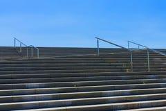 конкретные лестницы Стоковое Изображение
