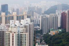 Конкретные джунгли Гонконг Стоковое Фото