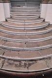 конкретные лестницы портрета Стоковое Фото
