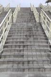 конкретные лестницы Стоковые Фото