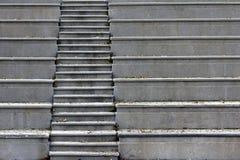 Конкретные лестницы Стоковая Фотография