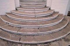 конкретные лестницы Стоковое фото RF