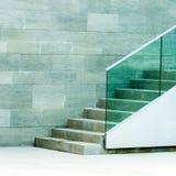 конкретные лестницы Стоковые Фотографии RF