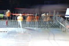 Ноча льет Стоковая Фотография RF