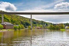Конкретный мост стоковая фотография