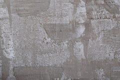 Конкретный серый цвет предпосылки стены текстуры или просторной квартиры Стоковые Фотографии RF