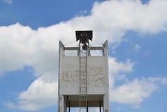 Конкретный танк водонапорной башни Стоковое Изображение RF