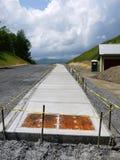 конкретный тротуар roadworks конструкции Стоковая Фотография RF