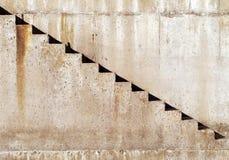 конкретный stairway Стоковая Фотография