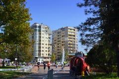 Конкуренты бежать парк Софии южный Стоковые Изображения RF