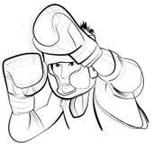 конкурент бокса тайский Стоковые Фотографии RF