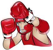 конкурент бокса тайский Стоковая Фотография RF