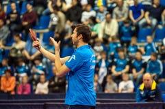 Конкуренции настольного тенниса Стоковые Изображения RF