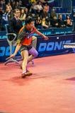 Конкуренции настольного тенниса Стоковые Фото