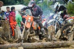 Конкуренции трудное Enduro отсутствие места побежать Стоковая Фотография RF