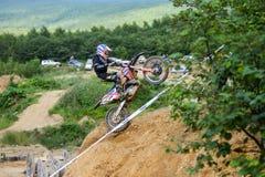 Конкуренции трудное Enduro отсутствие места побежать Стоковая Фотография