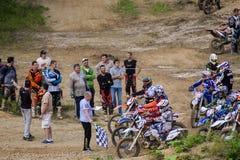 Конкуренции трудное Enduro отсутствие места побежать Стоковое фото RF