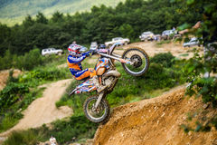 Конкуренции трудное Enduro отсутствие места побежать Стоковые Фото