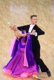 Конкуренция бальных танцев Стоковая Фотография RF