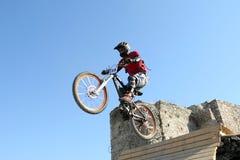 Конкуренция велосипедистов стоковое фото