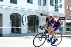 Конкуренция велосипеда Стоковое Изображение