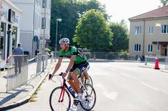 Конкуренция велосипеда Стоковые Изображения