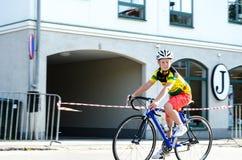 Конкуренция велосипеда Стоковая Фотография RF