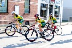Конкуренция велосипеда Стоковые Фотографии RF