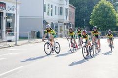 Конкуренция велосипеда Стоковое Фото