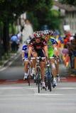 конкуренция задействуя giro Италию d Стоковое Изображение RF