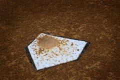 Конкуренция игры счета основной базы HomePlate бейсбола Стоковое Изображение