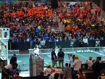 Конкуренция 1 робототехники 2016 FIRST® стоковое фото