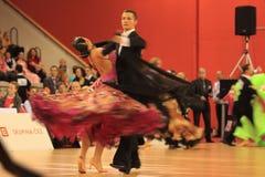 конкуренция чехословакский танцуя prague Стоковое фото RF