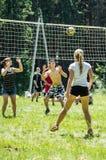 Конкуренция для волейбола дилетанта в зоне Kaluga в России Стоковые Фото