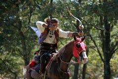 Конкуренция Archery в Турции Стоковое Изображение