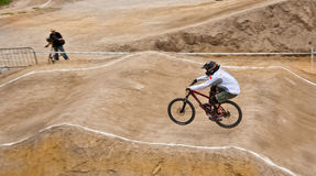 конкуренция bike Стоковые Фотографии RF