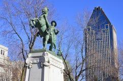 Конноспортивная статуя Стоковое Изображение