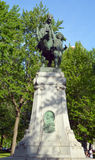 Конноспортивная статуя Стоковое Фото