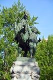 Конноспортивная статуя Стоковое Изображение RF