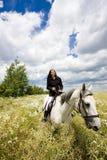 конноспортивно horseback стоковые изображения
