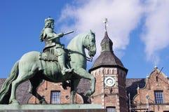 Конноспортивный памятник от января Wellem Стоковое Фото