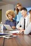 Консалтинг по менеджменту на офисе Стоковая Фотография