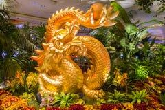 Консерватория гостиницы Bellagio & ботанические сады Стоковые Фотографии RF