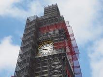 Консервация большого Бен работает в Лондоне стоковые изображения rf