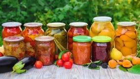 Консервация овощей безучастности Селективный фокус Питание стоковые фото